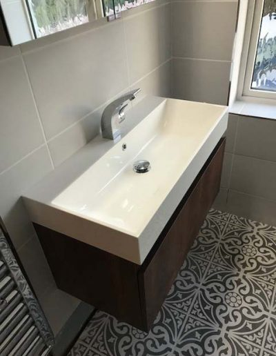 17 Bathroom renovation