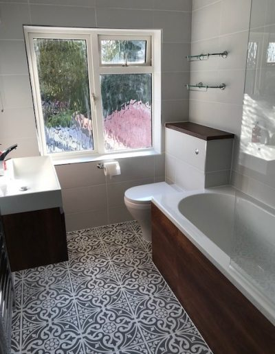 23 Bathroom renovation