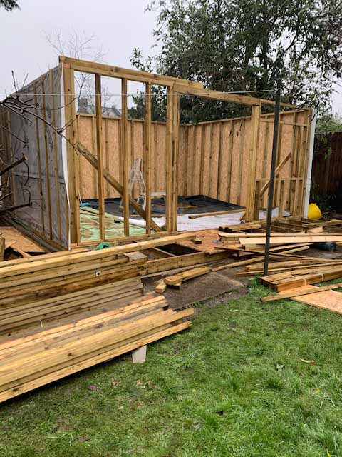 New multi-use garden studio built Hoddesdon