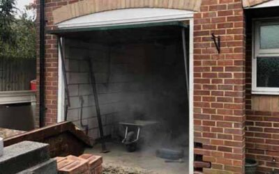 Garage conversion in Buntingford provides extra space